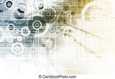 sieć, technologia