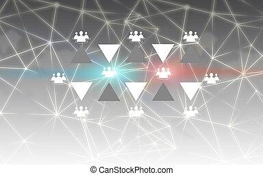 sieć, towarzyski
