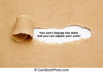 sie, buechse, not, änderung, der, wind, notieren