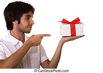 sie, geschenk
