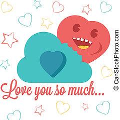 """sie, so, much"""", abbildung, """"love"""