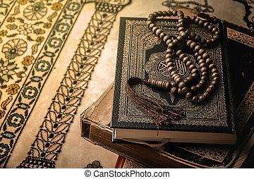 sieczka, święty, ), (, koran, książka, modlitwa, muslims