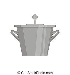 gro topf wasser kochen schwarz pan wohnung kochen gro abbildung pan wasser pot. Black Bedroom Furniture Sets. Home Design Ideas