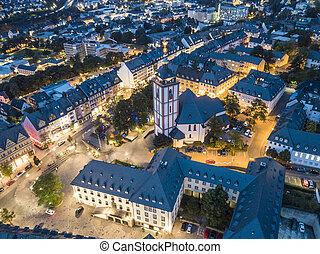siegen, miasto, niemcy