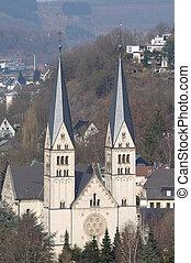 siegen, niemcy, st. michael, kościół