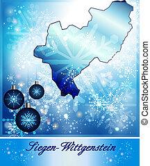 siegen-wittgenstein, mapa