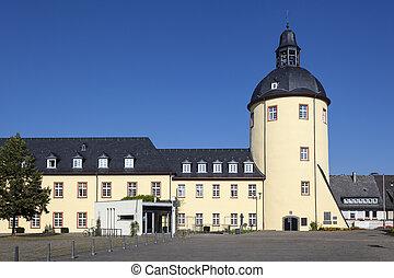 siegen, zamek, Historyczny, Niemcy