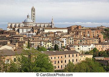 siena, トスカーナ, イタリア