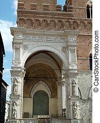 Siena - Capella di Piazza at Palazzo Pubblico