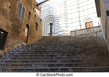 Siena Cathedral, dedicated to the Assumption of the Blessed ...
