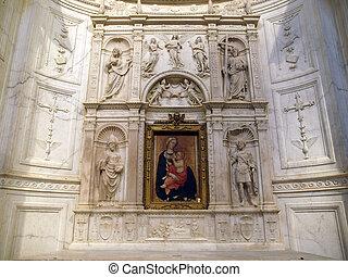 Siena - Duomo interior