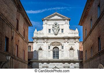 Siena historic buildings