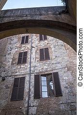 siena, italy:, 역사적인 건물