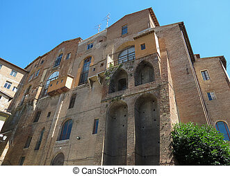 Siena, Ospedale di Santa Maria della Scala (medieval hospital of Saint Mary for orphans, pilgrims and the poor)