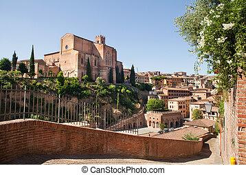 Siena - Wonderful city of Italy, Siena. Tuscany, Italy.
