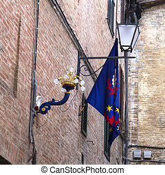 Siena - Contrada flag