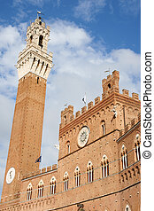Siena Town Hall (Palazzo Comunale) - Siena Town Hall and ...
