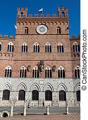 Siena Town Hall - The Palazzo Pubblico (town hall) is a ...
