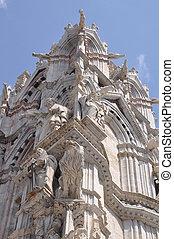 Sienna Cathedral sculptures
