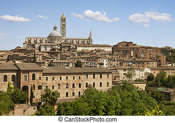 Sienna city. Tuscany, Italy