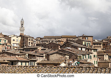 Sienna, Torre del Mangia, Italy