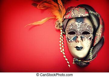 sierlijk, kermis masker