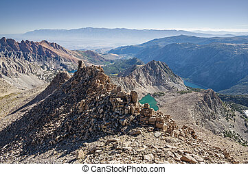 sierra, berg, aussicht