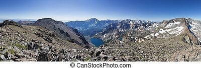 Sierra Mountain Panorama