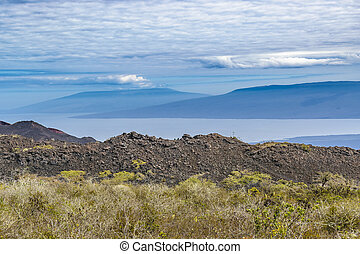 Sierra Negra Landscape, Galapagos, Ecuador