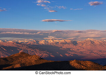 Sierra Nevada mountains