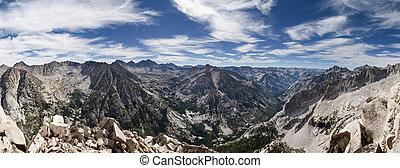 sierra, top, panorama
