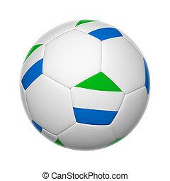 sierra, voetbal, leone, bal
