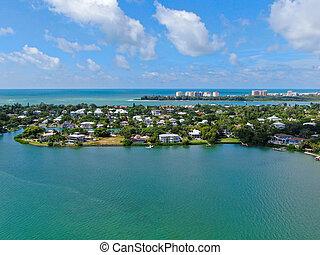 Siesta Key, coast of Sarasota, Florida.