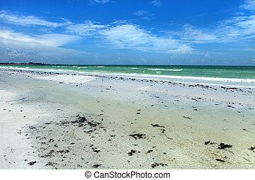 Siesta Key Sarasota Florida - Siesta Key Beach is located on...