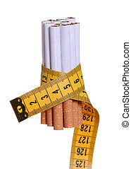 sigarette, metro a nastro