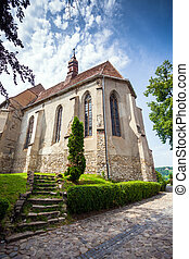 Church of the Hill from Sighisoara medieval city
