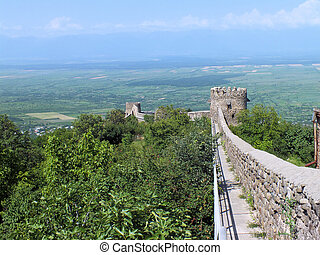 Sighnaghi Town Wall - Sighnaghi's 18th century fortifying ...