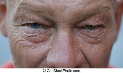 Sight of drunk man - Evil sight of drunk rural elderly man