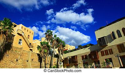 Jaffa Port, Israel.