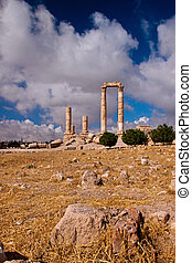 ancient Pillars of Hercules - sight of the ruins of the ...