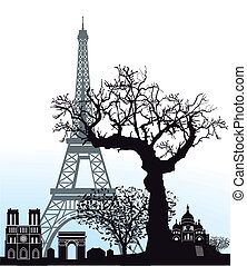 Sights in Paris