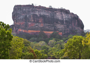 Sigiriya (Lion Rock), Sri Lanka