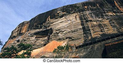 Sigiriya Lion's rock fortress Sri Lanka