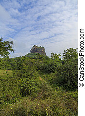 Sigiriya Rock Fortress at Matale, Sri Lanka