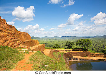 Sigiriya Sri Lanka kingdom old buddhist monastery, famous ...
