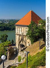 Sigismund Gate to Bratislava Castle - Slovakia