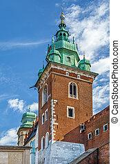 Sigismund Tower, Krakow, Poland