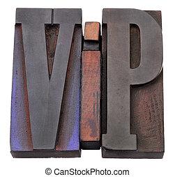 siglas, (very, vip, importante, person)
