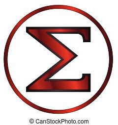 Sigma Greek Letter