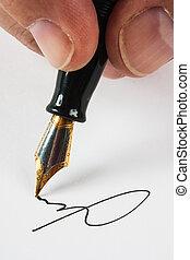 signé